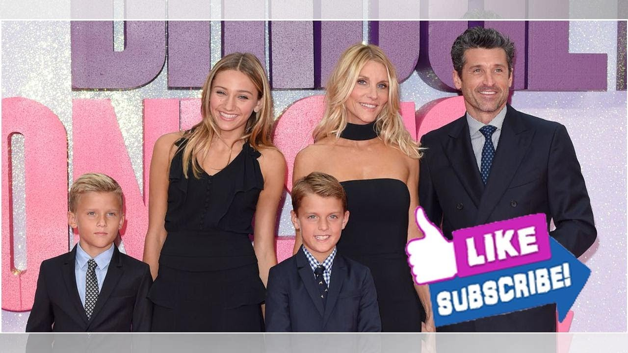 All About Patrick Dempseys Wife Jillian Fink And Their Three Kids Tallula Sullivan And Darby