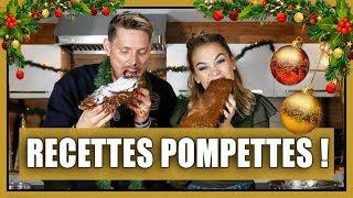 RECETTES POMPETTES! - La bûche de Noël de Ricardo // P.O et Marina