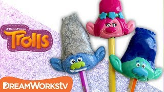 DIY Trolls Pencil Toppers | TROLLS