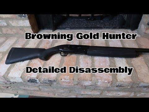 Browning Shotgun Detailed Disassembly  (Part 2 of 4)