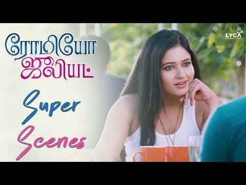 Hanshika Helps To Pick Up Poonam Bajwa - Romeo Juliet | Scene | Lyca Productions