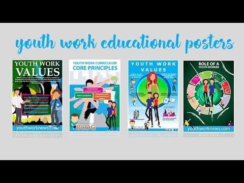 Youth Work Educational Posters For Your Youth Club