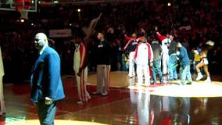 Derrick Rose first time All Star intro United Center