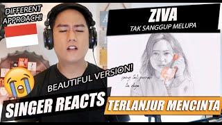 Ziva Magnolya - Tak Sanggup Melupa #TerlanjurMencinta | SINGER REACTION