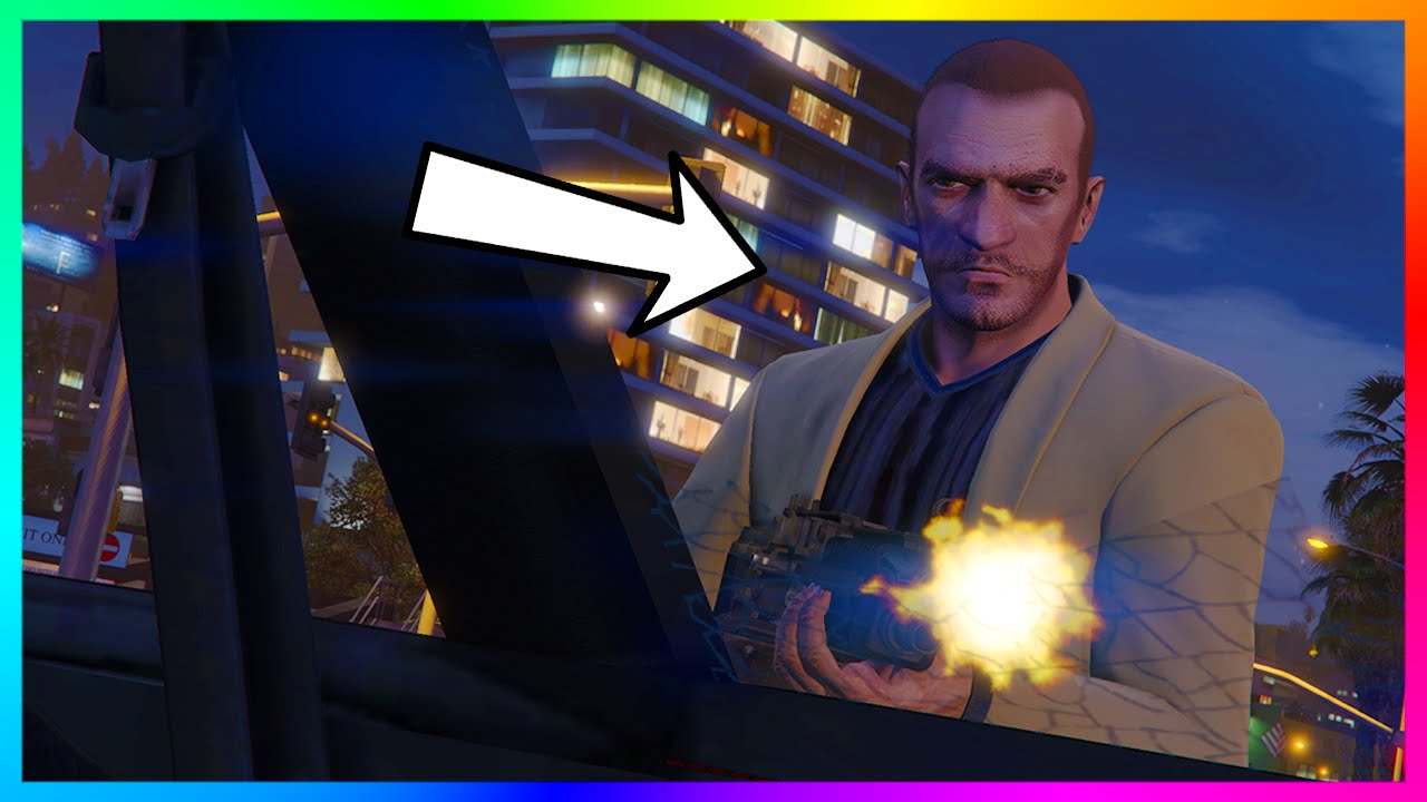 dentro Juguetón envase  NEW Proof Niko Bellic May Still Be ALIVE, Living In Liberty City & Return  In GTA 5! (GTA V) - YouTube