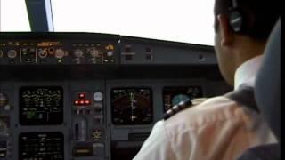 Procedimientos en cabina y aproximacion final ILS Lan Chile 705 Madrid-Santiago A340-200