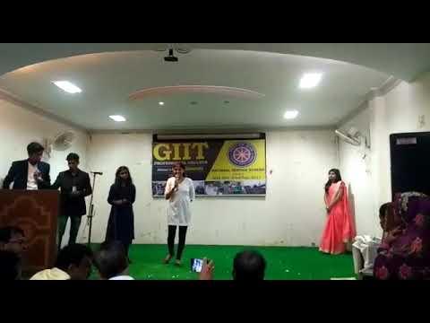 Amazing skit on Flood || NSS Award Function || GIIT Professional College,  Jamshedpur||