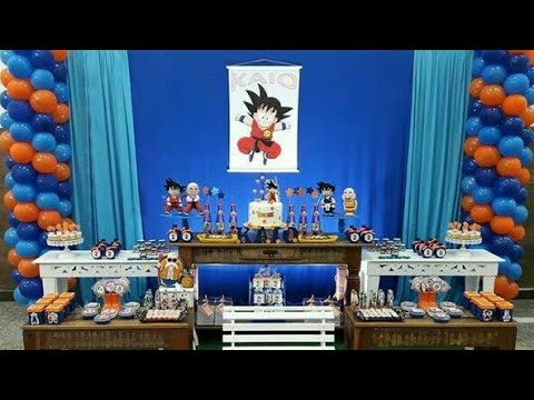 FIESTA DE DRAGON BALL 2018 BIRTHDAY BOYS MESA DE DULCES