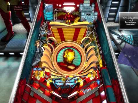 Pinball FX2 - Iron Man failed Ultimo attempt