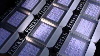 видео производство светодиодных светильников