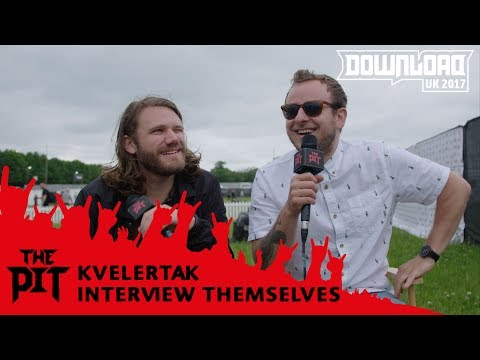 Kvelertak interview themselves at Download Festival 2017