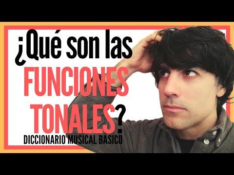 ¿Qué son las FUNCIONES TONALES? from YouTube · Duration:  4 minutes 17 seconds