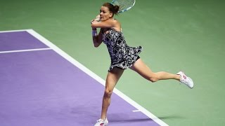 SAP Stat of the Day: 2016 WTA Finals Singapore Day | Agnieszka Radwanska