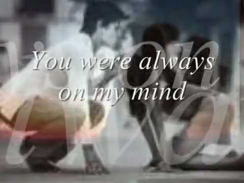 Michael Buble - Always On My Mind - Lyrics - YouTube