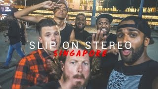 HANGING WITH AARADHNA & SLIP ON STEREO IN SINGAPORE!