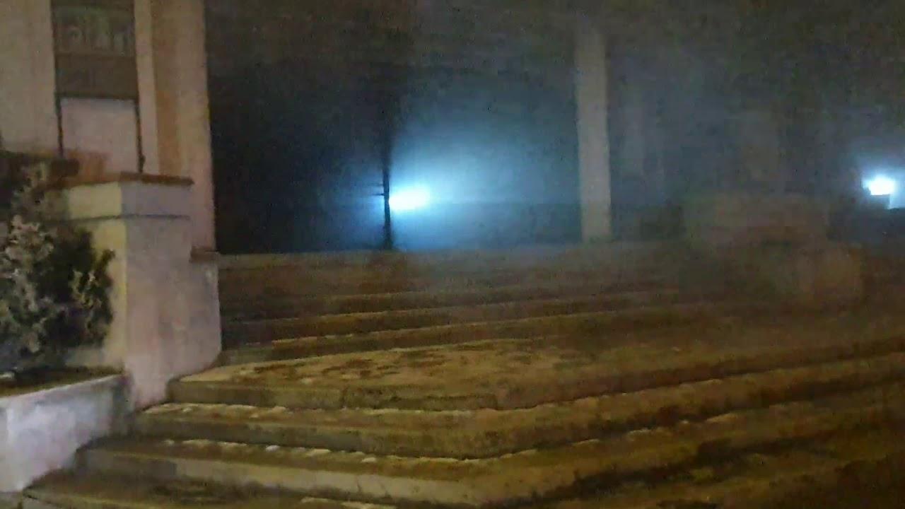 Incendiu la fostul cinema, de la Materna (17.01.2020)