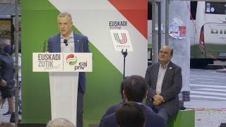"""Urkullu: """"Votar es seguro, lo ha confirmado la Junta Electoral"""""""