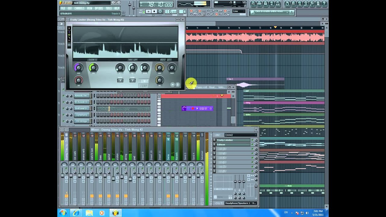 Hòa âm phối khí - LÀM BEAT - COVER - REMIX-làm nhạc beat