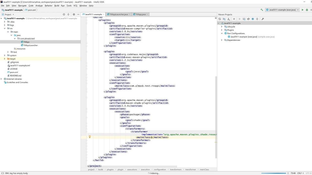 JavaFX 11 Cross-platform Deployment