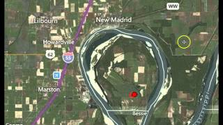 """Earthquake Strikes In the """"Key Hole"""" of New Madrid Fault In Kentucky"""