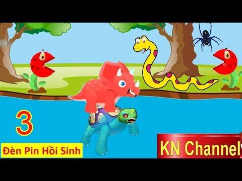 BÚP BÊ KN Channel & ĐÈN PIN HỒI SINH KHỦNG LONG Tập 3 HÀNH TRÌNH TÌM CHA CỦA KHỦNG LONG CON