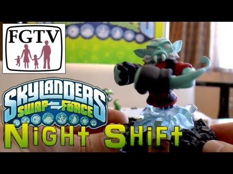 Skylanders Swap Force Night Shift - Hands-On Gameplay (2 of 6)