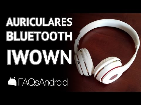Auriculares bluetooth iWown de 13 euros para Android