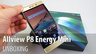 Allview P8 Energy Mini (Gionee Marathon M5 Mini) Unboxing - GSMDome.com