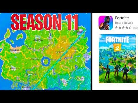 Season 11 MAP LEAKED In Fortnite Battle Royale! (Fortnite CHAPTER 2)
