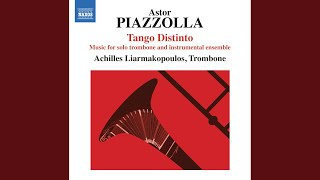 Histoire du Tango (History of the Tango) : II. Cafe 1930 (arr. A. Liarmakopoulos for trombone...