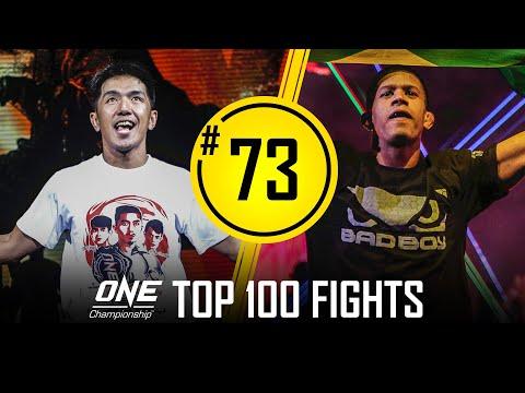 Geje Eustaquio vs. Adriano Moraes 2 | ONE Championship's Top 100 Fights | #73