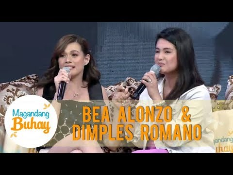 Bea Alonzo And Dimples Romana Share How Their Friendship Started | Magandang Buhay