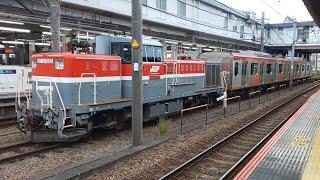 【東急】6000系中間車甲種輸送【6301と6302】
