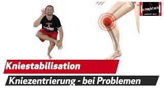 Zentriere dein Knie  - Prävention und Reha bei Knieschmerzen