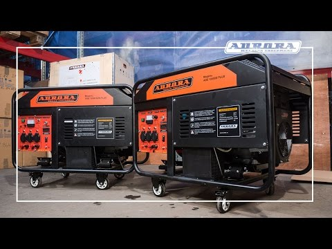 10 киловаттные генераторы AGE 12000 D PLUS и DZN PLUS