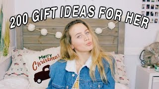 200 Gift Ideas For Her | Teen Gift Guide 2018