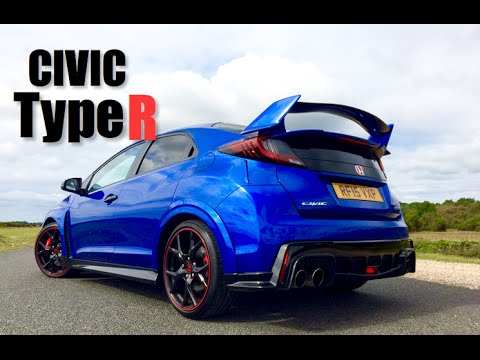 2016 honda civic type r review inside lane youtube. Black Bedroom Furniture Sets. Home Design Ideas