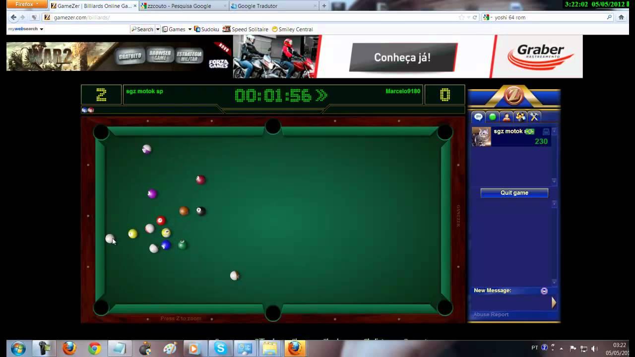 gamezer billiards pc gratuit