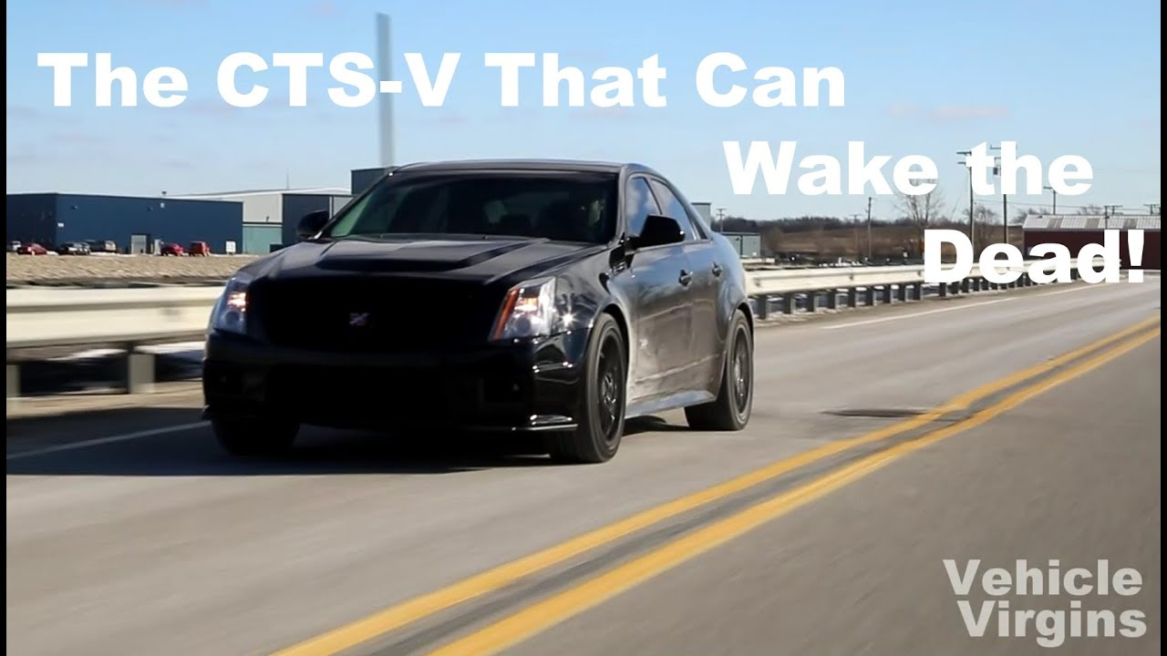 Insane 1000 HP Cadillac CTS-V Exhaust!
