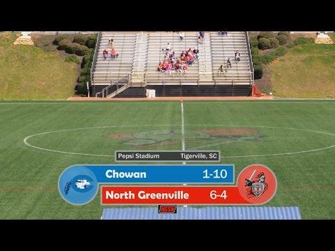NGU Women's Lacrosse 2016 - North Greenville vs. Chowan
