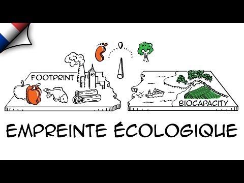 Empreinte écologique (explication animée)