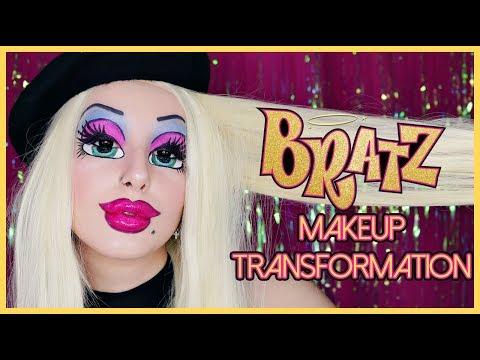 BRATZ DOLL | MAKEUP TRANSFORMATION