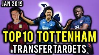 TRANSFER NEWS! TOP 10 Tottenham TRANSFER TARGETS January 2019 ft Grealish, N