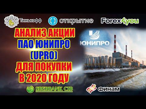 АНАЛИЗ АКЦИИ ПАО ЮНИПРО  (UPRO) ДЛЯ ПОКУПКИ В 2020 ГОДУ