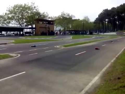 Carrera rc en pista de samil (vigo)