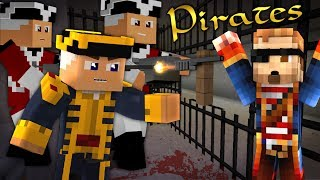 "Minecraft PIRATES! #5 - ""A PRISON!"" (Pirates of the Caribbean Minecraft Roleplay)"