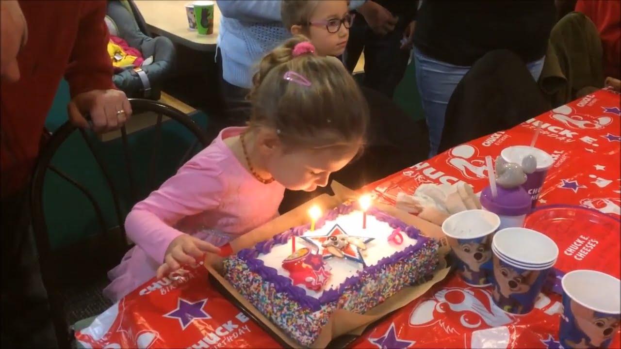 Birthday Party at Chuck E Cheeses YouTube