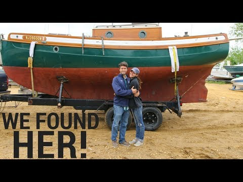 42] Buying Our Dream Sailboat from an Abandoned Boatyard | Abandon Comfort