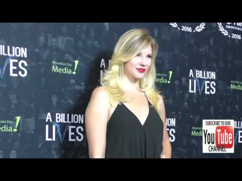 Kacey Spivey at the LA Premiere Of Award Winning Documentary A Billion Lives at ArcLight Theatre in