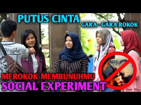 PARAH ! COWOK PEROKOK MENURUT PENDAPAT PARA CEWEK - SOCIAL EXPERIMENT